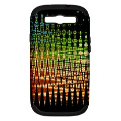 Triangle Patterns Samsung Galaxy S III Hardshell Case (PC+Silicone)