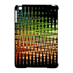 Triangle Patterns Apple Ipad Mini Hardshell Case (compatible With Smart Cover)