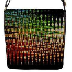 Triangle Patterns Flap Messenger Bag (s)