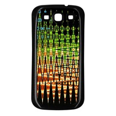 Triangle Patterns Samsung Galaxy S3 Back Case (black)