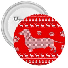 Ugly X Mas Design 3  Buttons