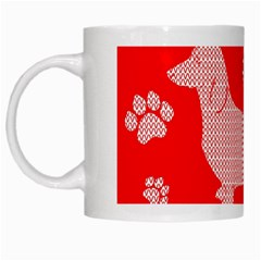 Ugly X Mas Design White Mugs