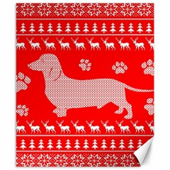 Ugly X Mas Design Canvas 8  X 10