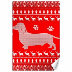 Ugly X Mas Design Canvas 12  x 18