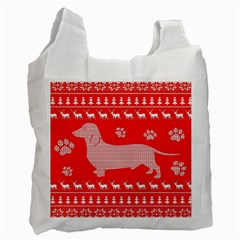 Ugly X Mas Design Recycle Bag (Two Side)