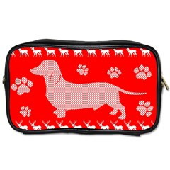 Ugly X Mas Design Toiletries Bags 2 Side