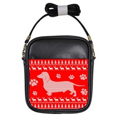 Ugly X Mas Design Girls Sling Bags