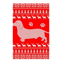 Ugly X Mas Design Shower Curtain 48  x 72  (Small)