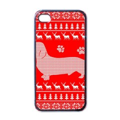 Ugly X Mas Design Apple iPhone 4 Case (Black)