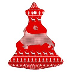 Ugly X Mas Design Ornament (Christmas Tree)