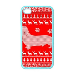 Ugly X Mas Design Apple Iphone 4 Case (color)