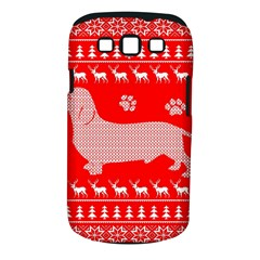 Ugly X Mas Design Samsung Galaxy S III Classic Hardshell Case (PC+Silicone)