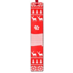 Ugly X Mas Design Large Book Marks