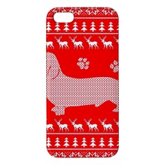 Ugly X Mas Design Apple Iphone 5 Premium Hardshell Case