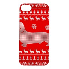 Ugly X Mas Design Apple Iphone 5s/ Se Hardshell Case