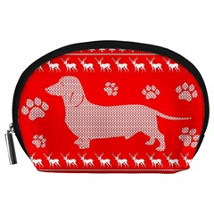 Ugly X Mas Design Accessory Pouches (large)