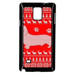 Ugly X Mas Design Samsung Galaxy Note 4 Case (Black)