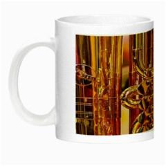 Tuba Valves Pipe Shiny Instrument Music Night Luminous Mugs