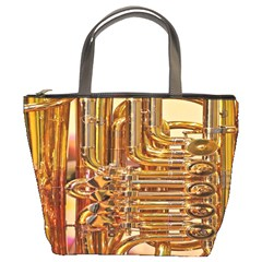 Tuba Valves Pipe Shiny Instrument Music Bucket Bags