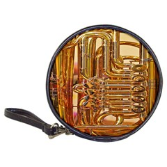 Tuba Valves Pipe Shiny Instrument Music Classic 20-CD Wallets
