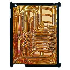 Tuba Valves Pipe Shiny Instrument Music Apple iPad 2 Case (Black)