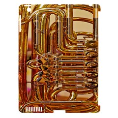 Tuba Valves Pipe Shiny Instrument Music Apple iPad 3/4 Hardshell Case (Compatible with Smart Cover)