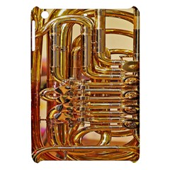 Tuba Valves Pipe Shiny Instrument Music Apple iPad Mini Hardshell Case