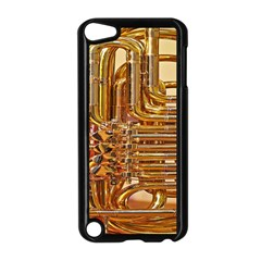 Tuba Valves Pipe Shiny Instrument Music Apple iPod Touch 5 Case (Black)