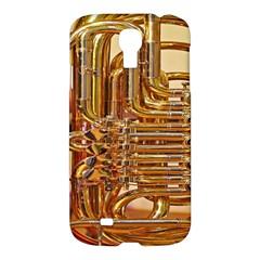 Tuba Valves Pipe Shiny Instrument Music Samsung Galaxy S4 I9500/I9505 Hardshell Case