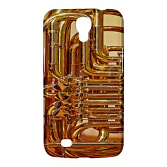 Tuba Valves Pipe Shiny Instrument Music Samsung Galaxy Mega 6 3  I9200 Hardshell Case