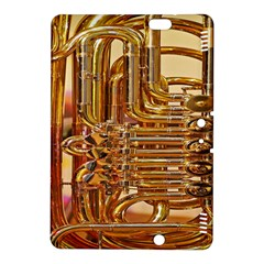 Tuba Valves Pipe Shiny Instrument Music Kindle Fire Hdx 8 9  Hardshell Case