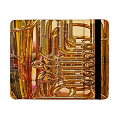 Tuba Valves Pipe Shiny Instrument Music Samsung Galaxy Tab Pro 8 4  Flip Case