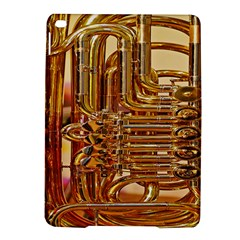 Tuba Valves Pipe Shiny Instrument Music Ipad Air 2 Hardshell Cases