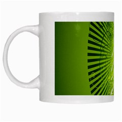 Vector Chirstmas Tree Design White Mugs