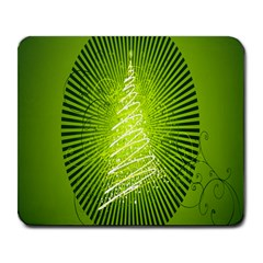 Vector Chirstmas Tree Design Large Mousepads