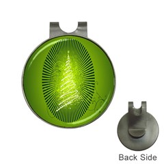 Vector Chirstmas Tree Design Hat Clips with Golf Markers