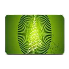 Vector Chirstmas Tree Design Small Doormat