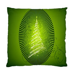 Vector Chirstmas Tree Design Standard Cushion Case (one Side)