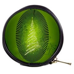 Vector Chirstmas Tree Design Mini Makeup Bags