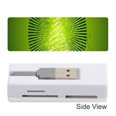 Vector Chirstmas Tree Design Memory Card Reader (Stick)