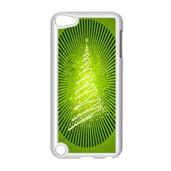 Vector Chirstmas Tree Design Apple iPod Touch 5 Case (White)