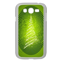 Vector Chirstmas Tree Design Samsung Galaxy Grand Duos I9082 Case (white)