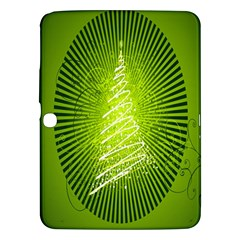 Vector Chirstmas Tree Design Samsung Galaxy Tab 3 (10 1 ) P5200 Hardshell Case