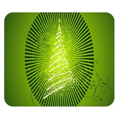 Vector Chirstmas Tree Design Double Sided Flano Blanket (small)