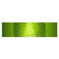 Vector Chirstmas Tree Design Satin Scarf (oblong)