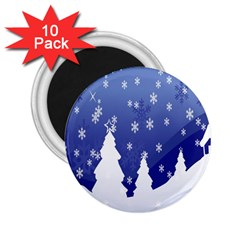 Vector Christmas Design 2.25  Magnets (10 pack)