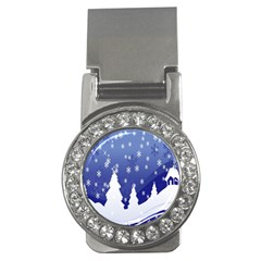 Vector Christmas Design Money Clips (cz)
