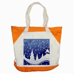 Vector Christmas Design Accent Tote Bag