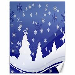 Vector Christmas Design Canvas 18  x 24