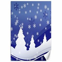 Vector Christmas Design Canvas 20  x 30